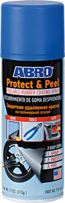 ABRO SPRAY PAINT PROTECT AND PEEL BLUE