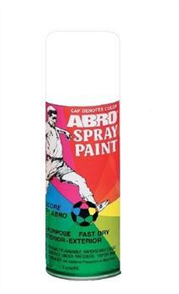 ABRO SPRAY PAINT FLAT WHITE