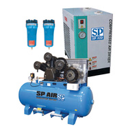 Air Compressor, LD10SHA - Air Dryer, JF-A-002 - Micron Filter, JF-C-002 - Micron Filter