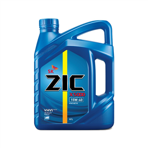 ZIC X5000 15W-40 Semi Synthetic Formula 6L